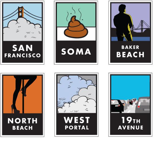 San Francisco Hoods by Irina Blok