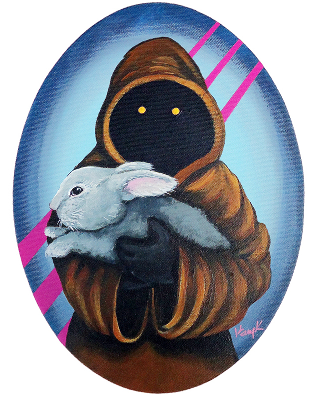 Jawa with Bunny by Kelly Kerrigan