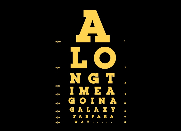 Jed Eye Chart