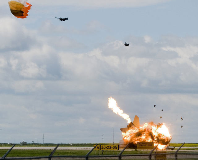 CF-18 jet crash