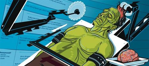 Frankenstein Bulletin Print