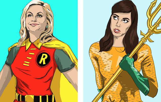 Parks and Recreation Justice League