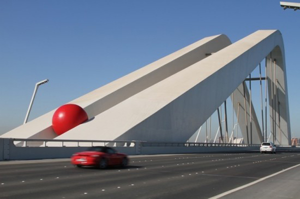 RedBall Project by Kurt Perschke
