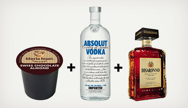 K-Cup Cocktails, MIxed Drinks Made With Flavored Single ...
