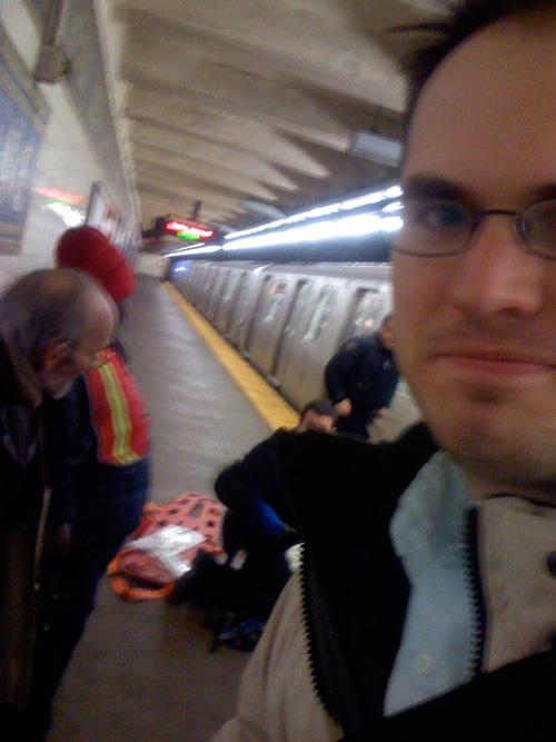 Kevin Gamble, Tiki Bar's Johnny Johnny, Saves Woman on Subway