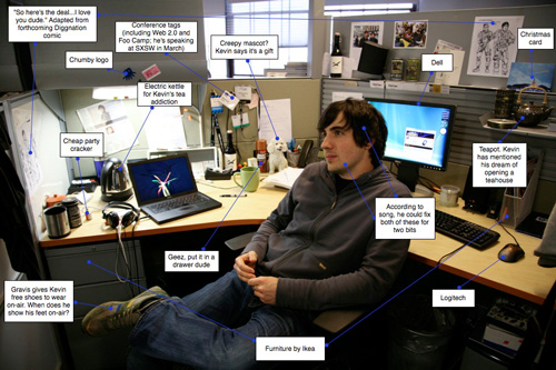 Valleywag Investigates What's On Kevin Rose's Desk