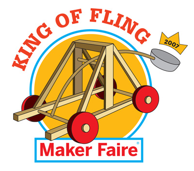 Maker Faire: King of Fling Catapult Contest
