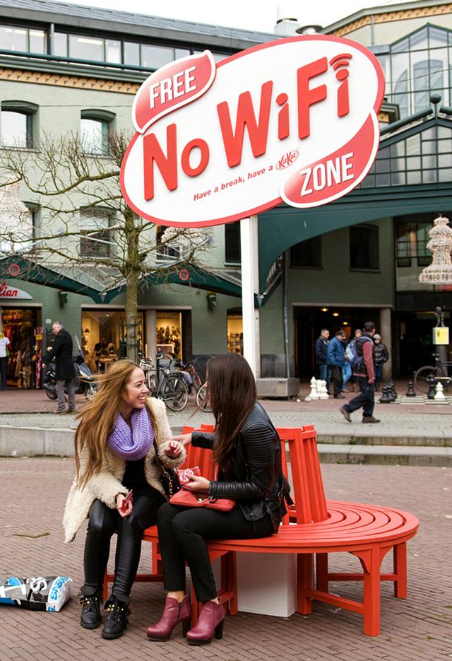 Free No Wi-Fi Zone