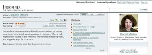 How to write a knol