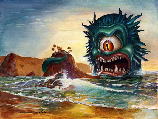 Release the Kraken! Art Show Featuring Legendary Sea Monster