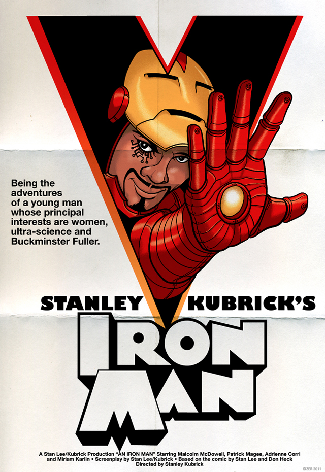 What If Stanley Kubrick Directed Iron Man?