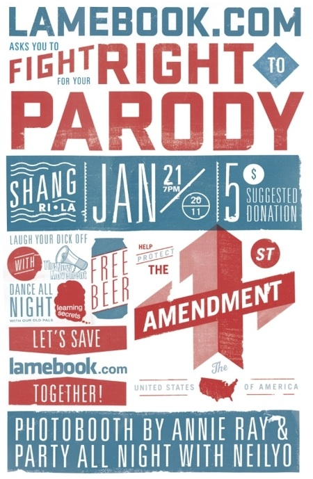 Lamebook.com Legal Fundraiser