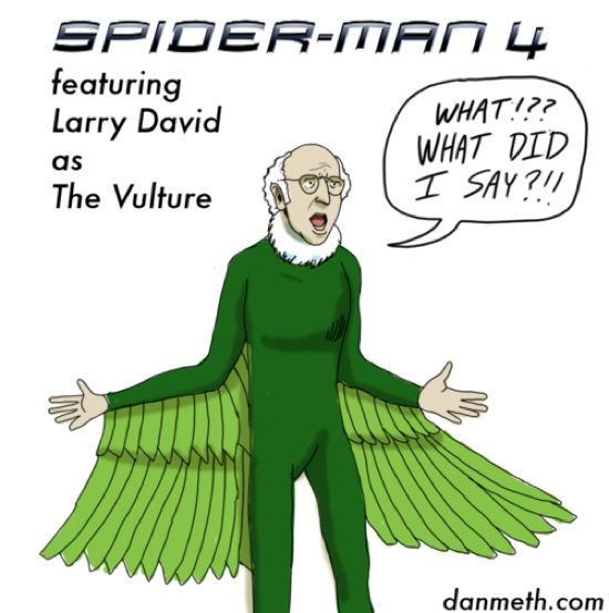 Larry David as The Vulture
