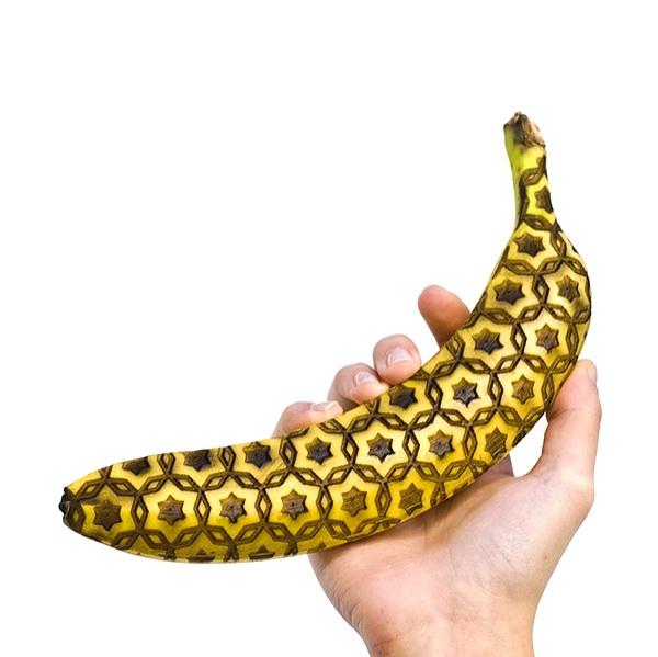 Laser Engraved Banana