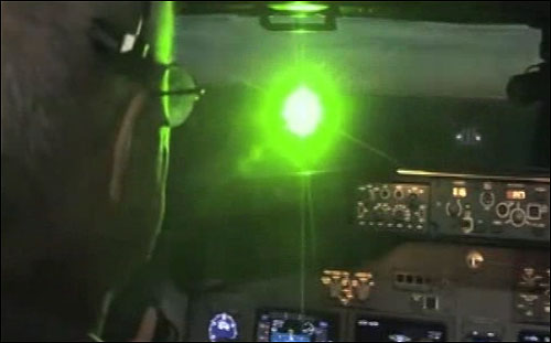 Lasering a Police Helicopter Leads to Quick Arrest