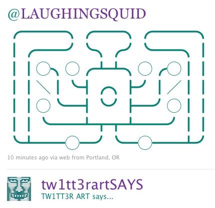 Laughing Squid Twitter Art
