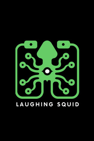Laughing Squid iPhone Wallpaper