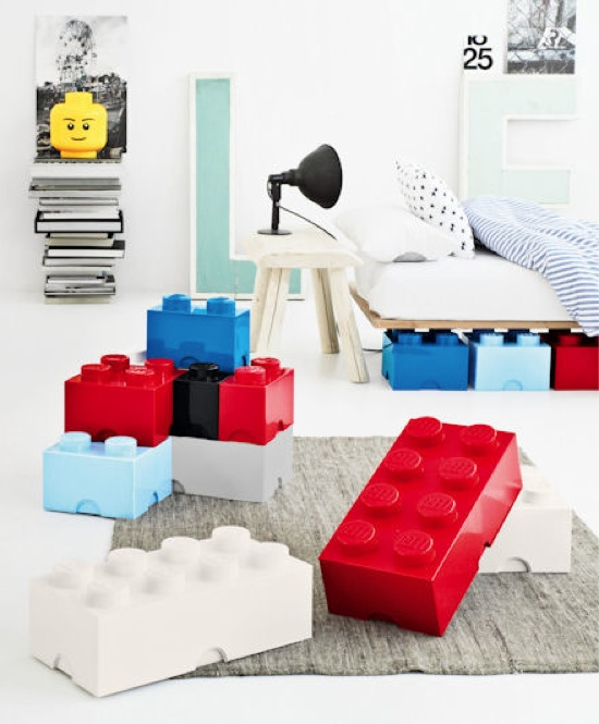 Giant LEGO Brick Storage Boxes