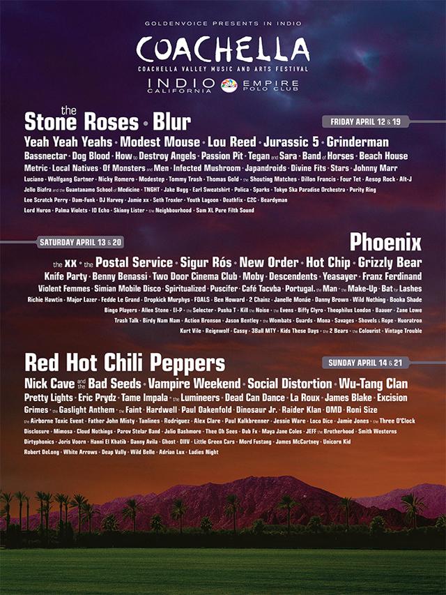 2013 Coachella Valley Music and Arts Festival in Indio, California