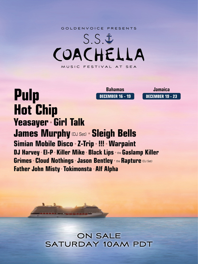 S.S. Coachella Music Festival At Sea