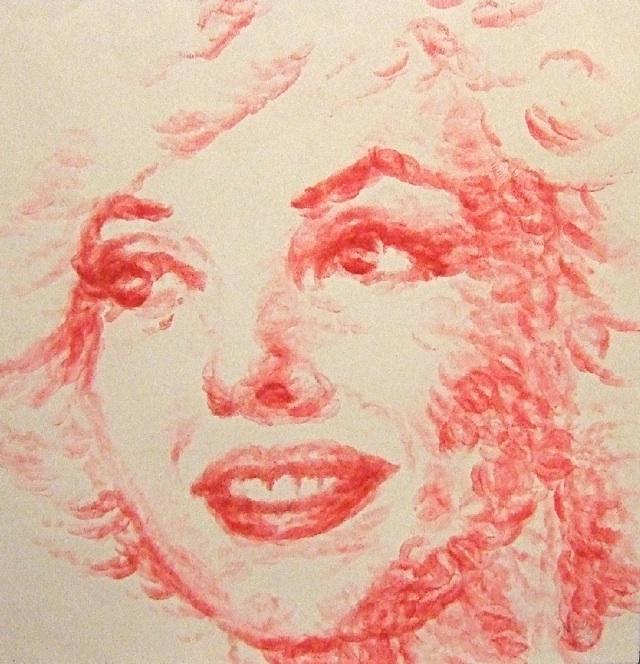 lip-painting