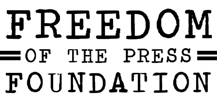 Freedom of the Press Foundation, Supporting Government