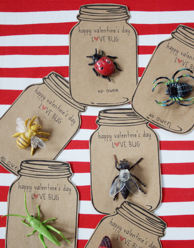 Crafts For Second Graders http://laughingsquid.com/love-bug-valentines/