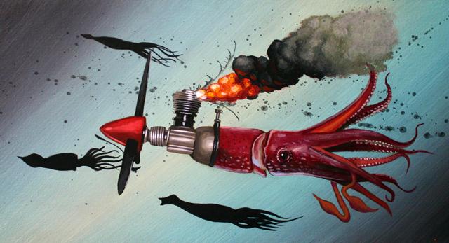 Lucky Strike #12 Humboldt Burning by Robert Bowen