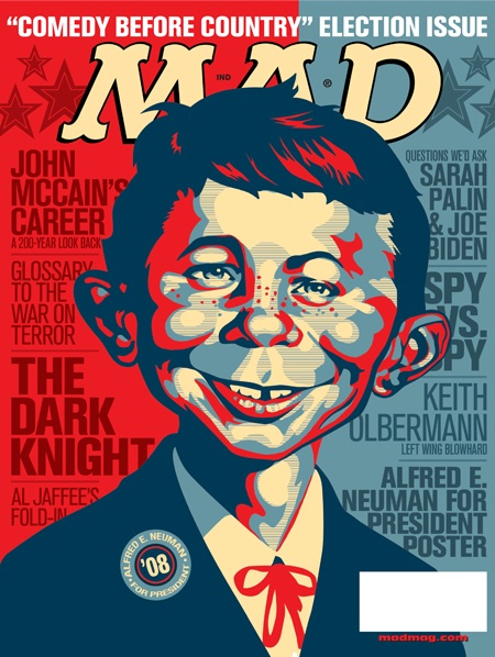 Alfred e neuman hopeless poster cover of mad magazine for Old magazines
