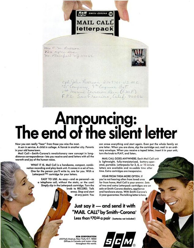 Mail Call by Smith Corona 1967
