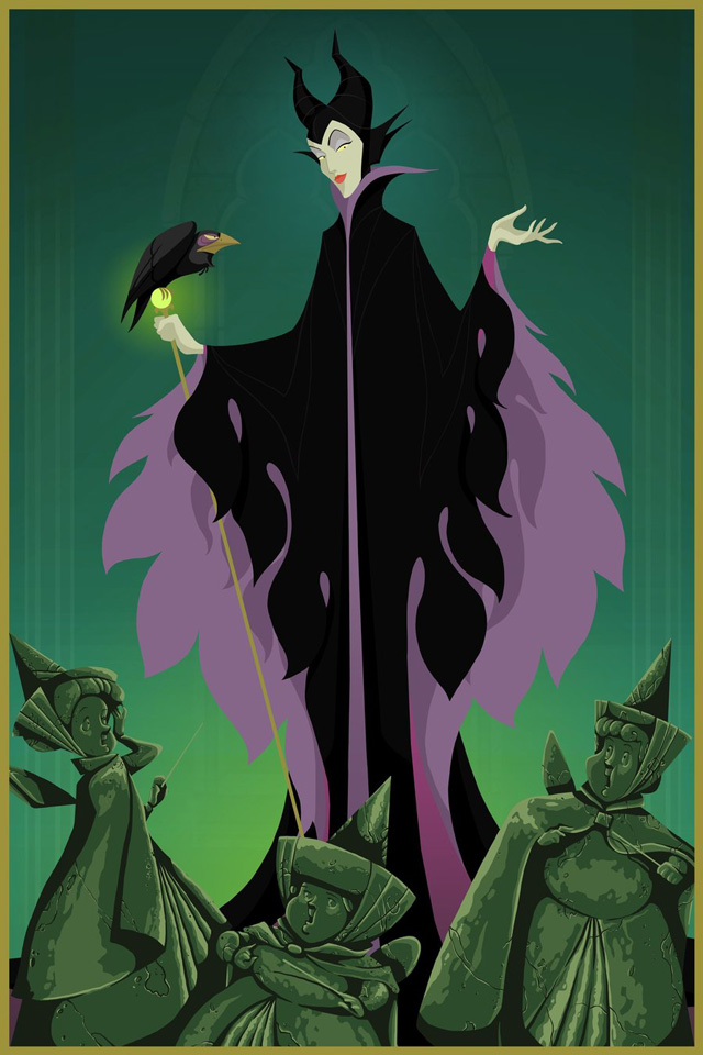 Maleficent's Statuary