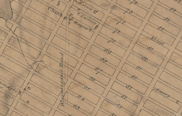 Manhattan Street Grid 1811