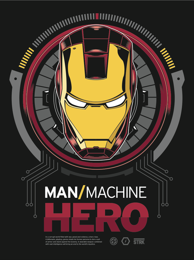 ManMachineHero CLASSIC by Adam Limbert