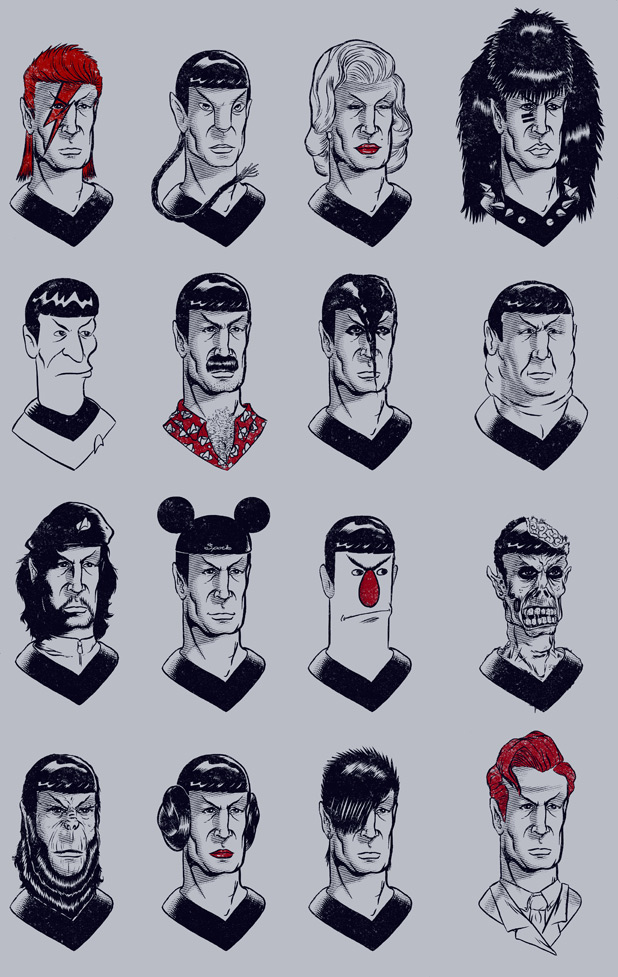 Many Faces of Spock