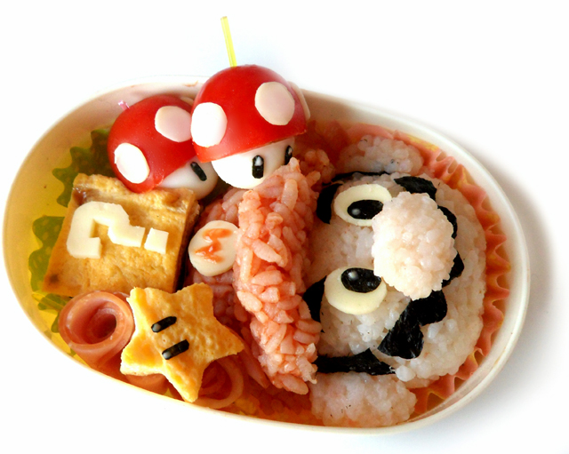 Super Mario Brothers Bento Box Tutorial by Minori Shimoda