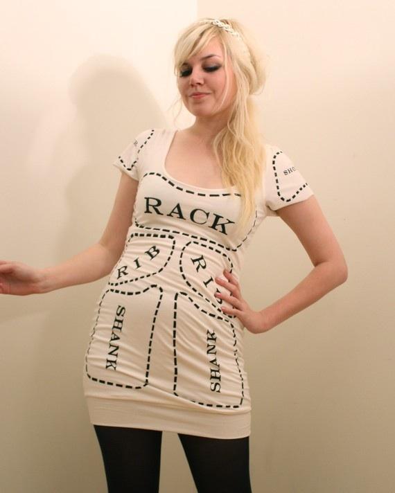 meat-dress