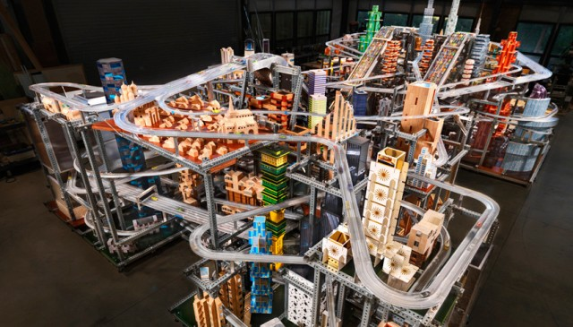 Metropolis II by Chris Burden