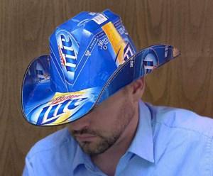 Miller Lite Cowboy Hat