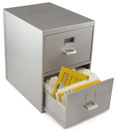 sc 1 st  Laughing Squid & Mini Business Card File Cabinet