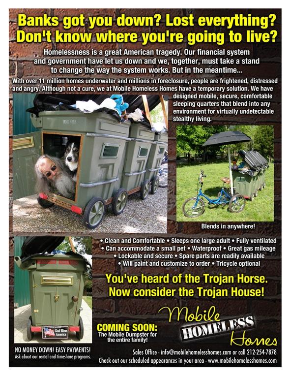 Mobile Homeless Homes