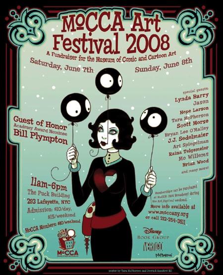 MoCCA Art Festival 2008