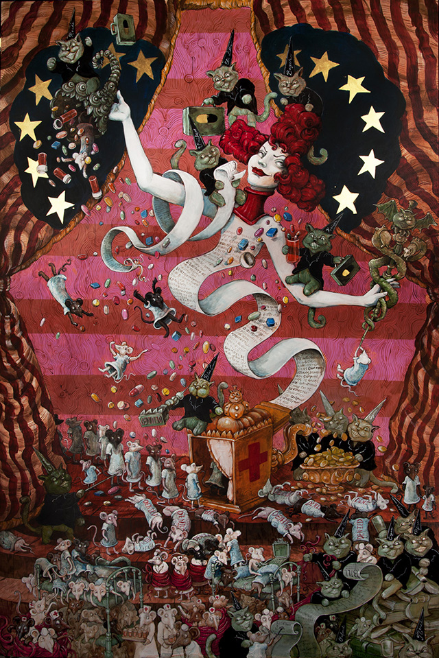 Business of Illness by Molly Crabapple