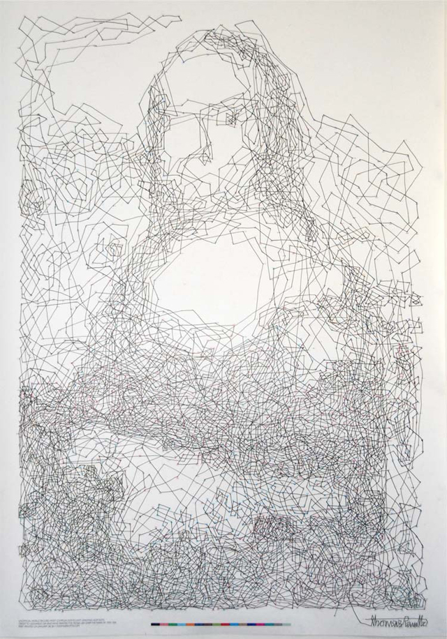 The World's Most Complex Connect The Dots Drawing With 6,239 Dots