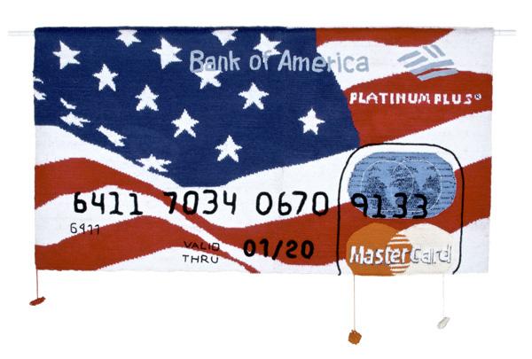 Knit credit cards by Dimitri Tsykalov