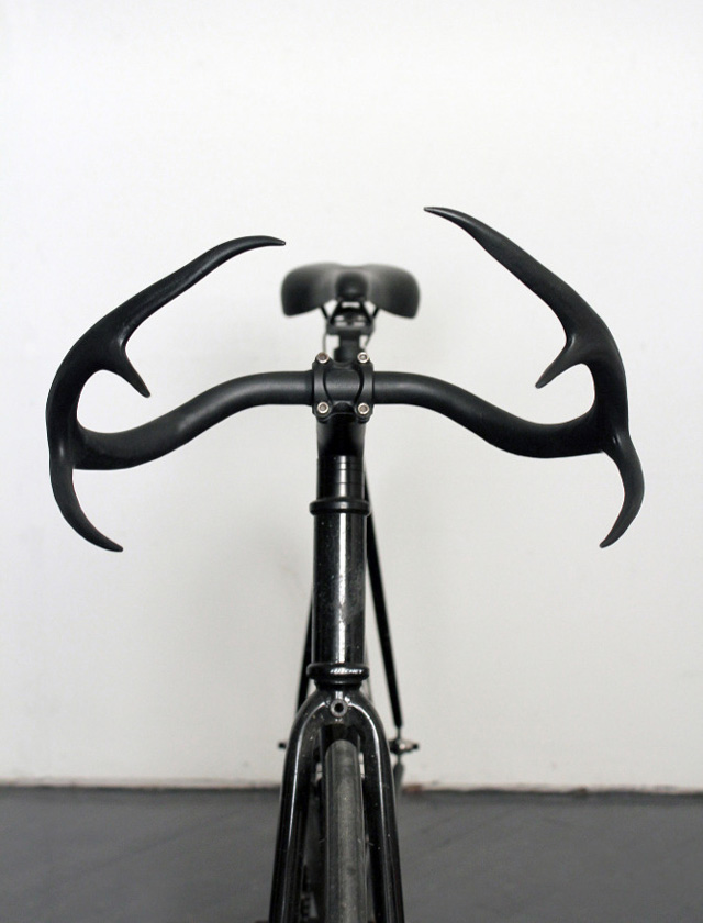 Moniker deer antler bicycle handlebars by Taylor Simpson