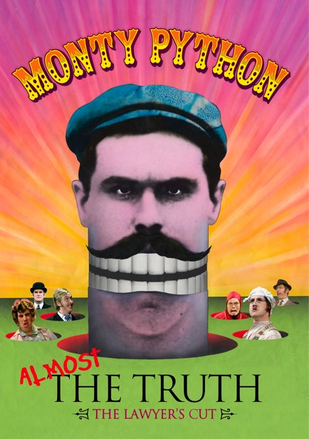 Monty Python: Almost The Truth Cover