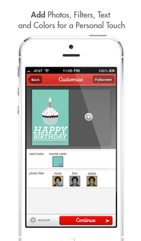 Ink Cards An App To Create Personalized Photo Cards For Mailing