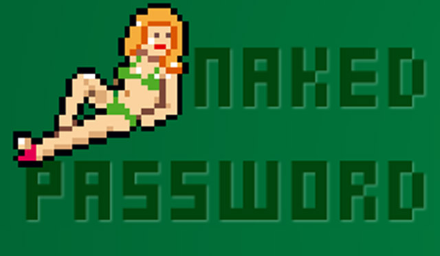 Naked Password, Encouraging Stronger Passwords With 8-Bit Striptease