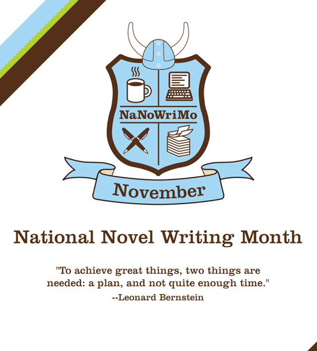 write a novel month It's almost november can you feel the crackle in the air i'm not talking about static electricity – i mean the literary potential energy.