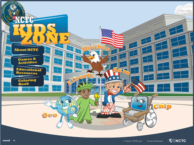The Kids Pages of US Intelligence and Law Enforcement Agencies
